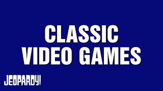 Classic Video Games Category Highlight thumbnail