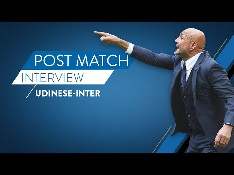 UDINESE-INTER | Luciano Spalletti interview | Post-match reaction