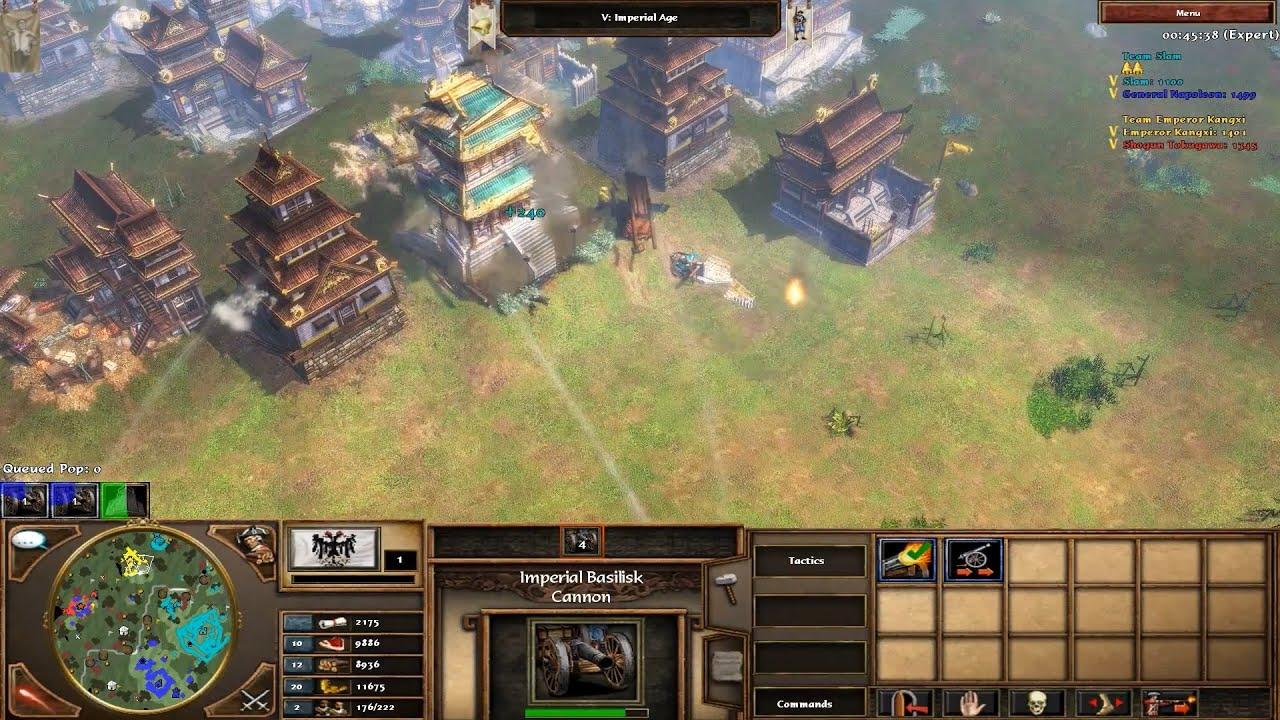 Age of Empires III Improvement Mod 5.5 Gameplay (HD) - YouTube