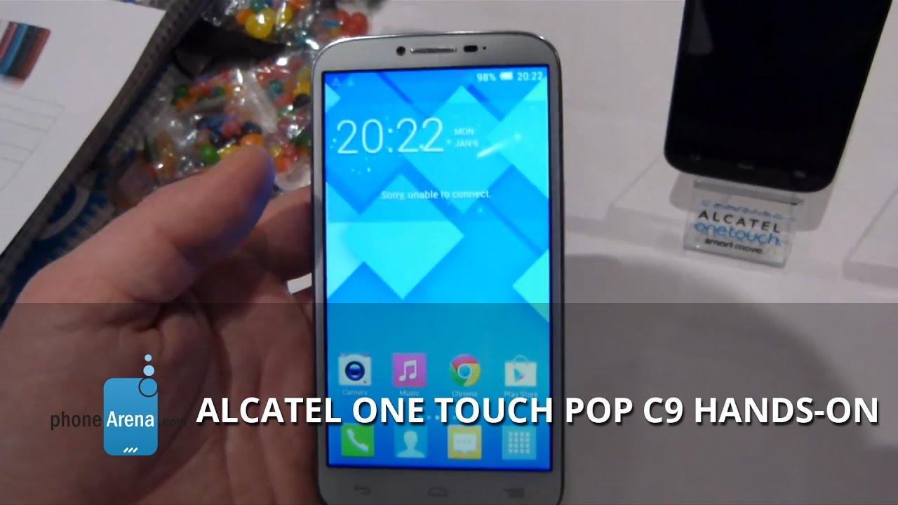 Alcatel One Touch Pop C9 Hard Reset, Format Code solution - YouTube