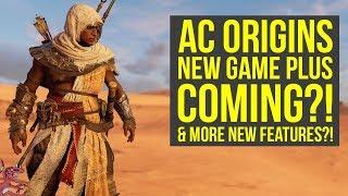 Assassin's Creed Origins SECRET DLC AREA UPDATED & New Game Plus Probably Coming (AC Origins DLC)