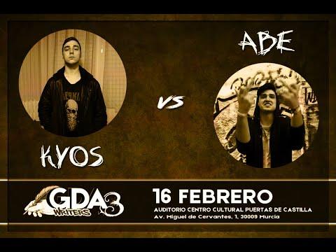 #GDAwriters3 KYOS vs ABE Batalla Escrita