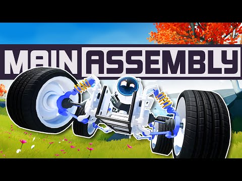Main Assembly - Building Insane Rocket Powered Vehicles! The Best Vehicle Builder Yet?