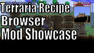 Recipe Browser Terraria Как Пользоваться