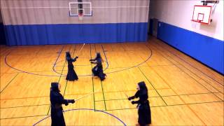 Little Kendo fun with a Drone.