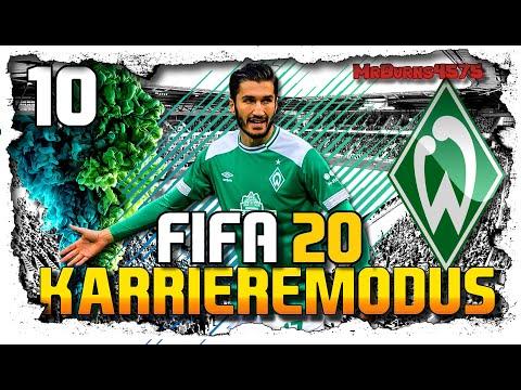 DFB Pokal Gegen Sandhausen ⚽ Let´s Play FIFA 20 Karrieremodus WERDER BREMEN #10
