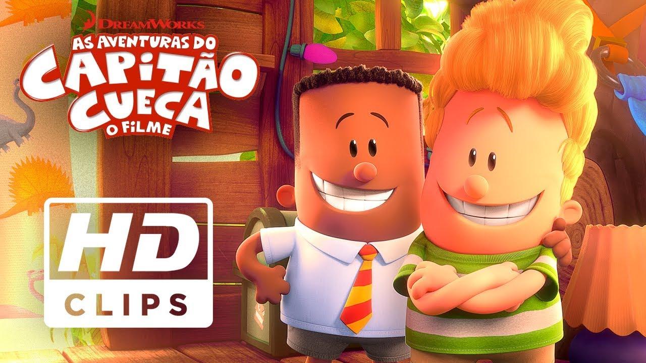 As Aventuras Do Capitao Cueca O Filme Clip Oficial Dublado Hd Youtube