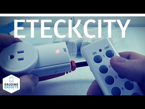 Etekcity Wireless Remote Outlet Review and Setup - Zap Control Electrical Switches