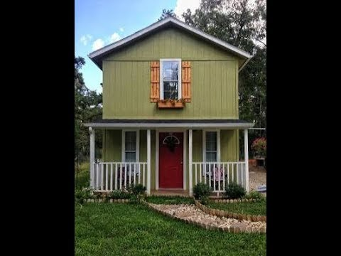 Touring Inside Tuff Shed For Tiny Home Ideas Youtube