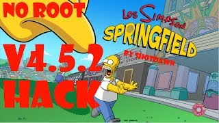 Simpsons Springfield Tapped Out Mod Rosquillas Infinitas Bluestacks