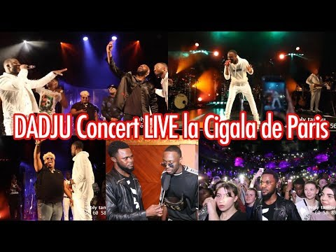DADJU - Bob Marley - Reine- Concert Live la Cigale PARIS Avec NAZA, MHD, KEBLACK + Interviews