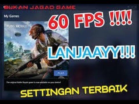 Cara Main Pubg Mobile Di Pc 60 Fps Lancar Jaya Youtube