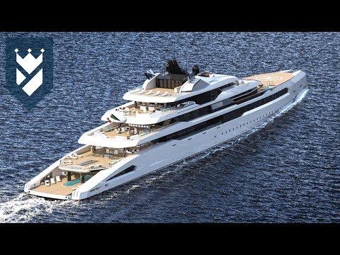 "113 Meter Long Super Yacht ""Ganimede"""