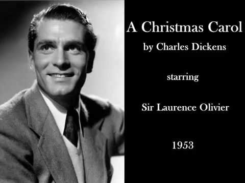 Laurence Olivier in 'A Christmas Carol' by Charles Dickens (1953) - Radio drama