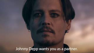 johnny depp decentralized actor