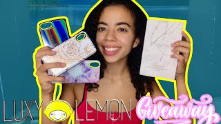 Luxy Lemon Giveaway 2019!   Unboxing + Review!