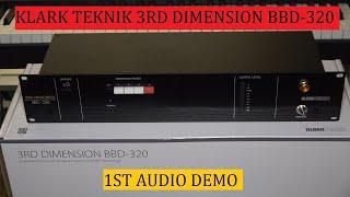 KLARK TEKNIK 3RD DIMENSION BBD- 320 - first audio demo