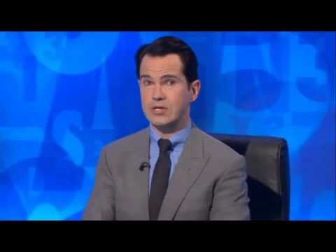 Sean Lock makes Jimmy Carr cry with spit joke