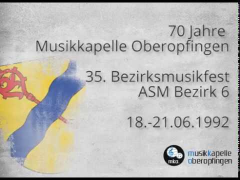 Musikkapelle Oberopfingen - Musikfest 1992