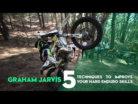Graham Jarvis - 5 Techniques to Improve Your Hard Enduro Skills | RBS2S