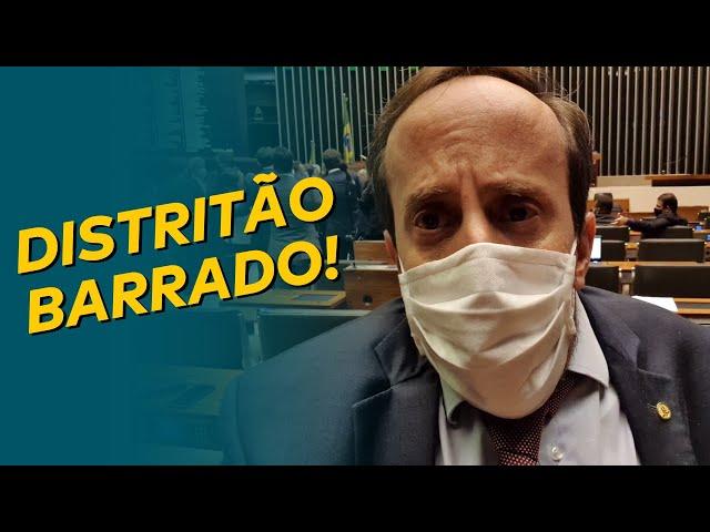 DISTRITÃO BARRADO!