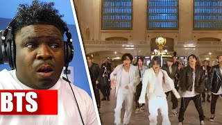 "BTS Performs ""ON"" at Grand Central Terminal for The Tonight Show - REACTION"