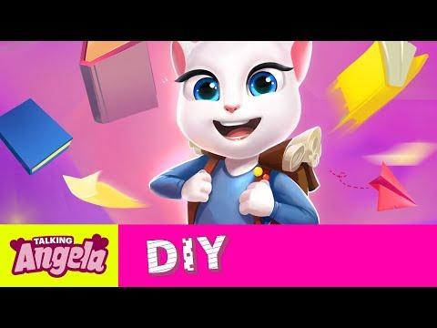 Talking Angela – DIY School Style