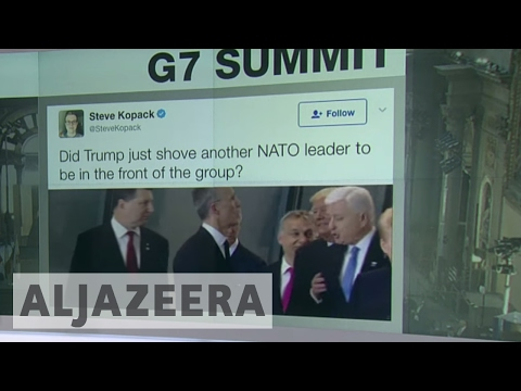 Decoding Donald Trump's body language at the G7 Summit