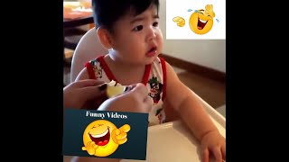 Baby Lemon React|Baby and Kids Reaction to Food -Funny Baby Video|Cute Baby Eating Lemon First Time
