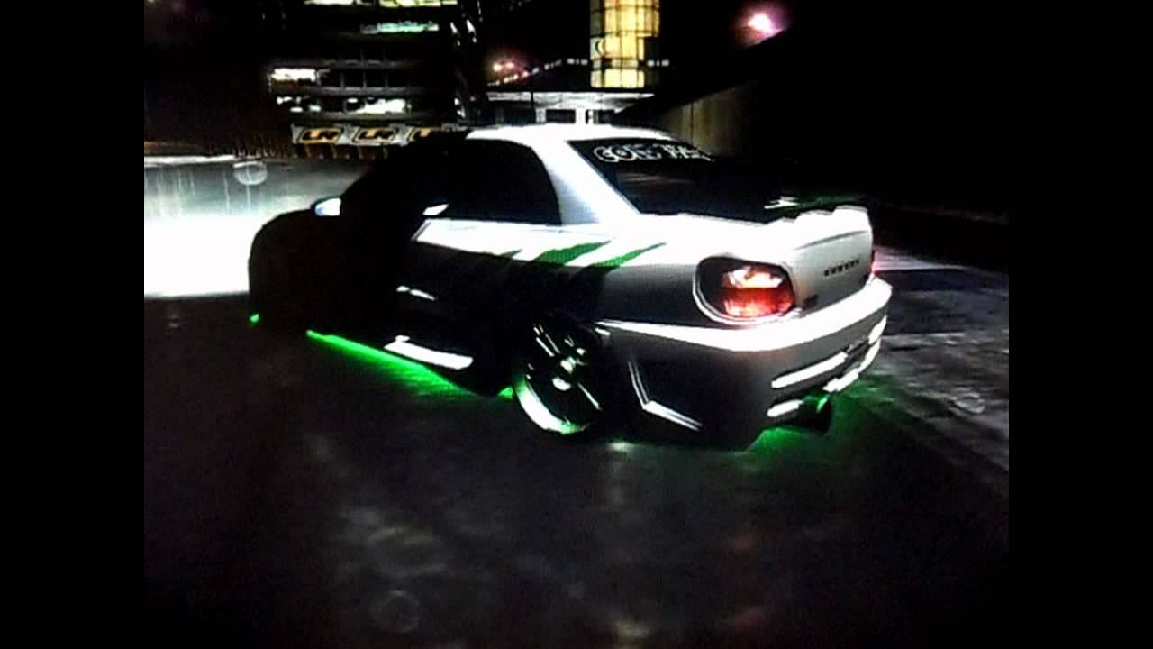 NFS Underground 2 Subaru Impreza WRX Monster Energy Car