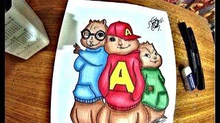 Alvin e os Esquilos 4 - Na Estrada! Brincando de Desenhar