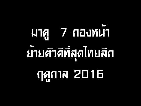 มาดู 7 นักเตะตำแหน่งกองหน้าย้ายตัวดีที่สุดในไทยลีก 2016