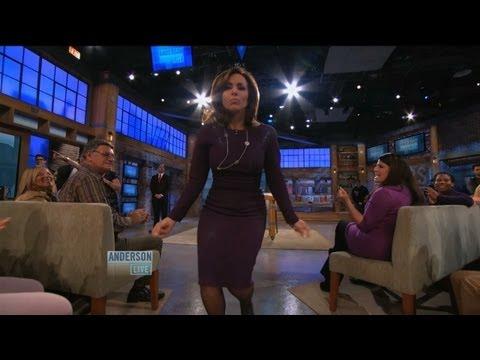 Rosanna Scotto Dancing Up a Storm!