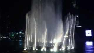 Шоу Фонтаны в Дубае под Аллу Пугачёву. Пугачёва в Дубае на фонтанах