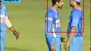 Suresh Raina Fighting With Ravindre Jadeja
