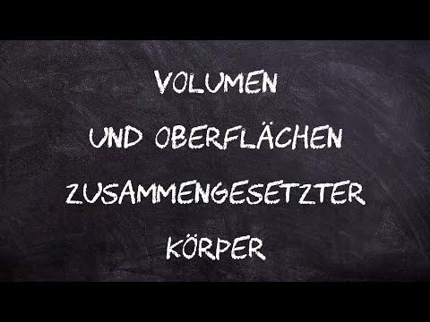 Würfel und Quader, Volumen, Oberfläche, Netz, Geometrie   Mathe by Daniel Jung from YouTube · Duration:  4 minutes 43 seconds