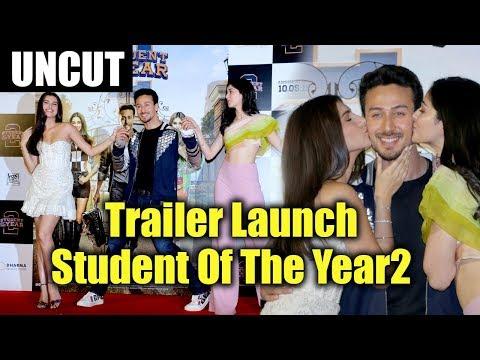 Student Of The Year 2 FULL HD Trailer Launch Event | Tiger Shroff | Tara | Ananya | Punit Malhotra