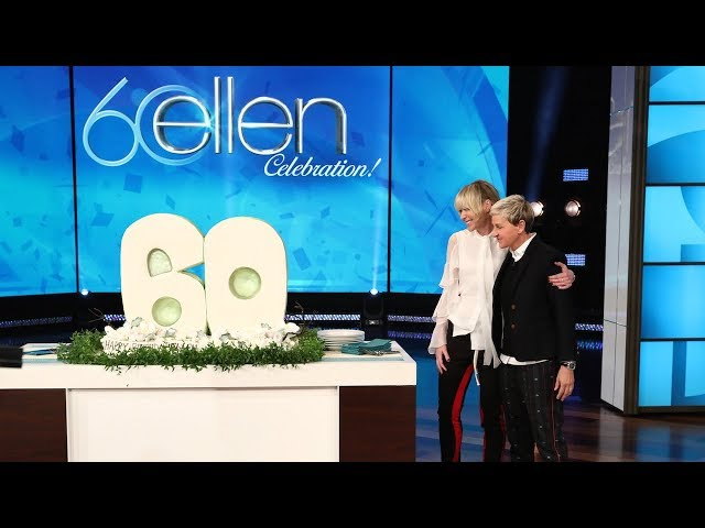 Ellen Makes a Wish for Her 60th Birthday