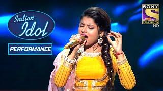 Download Arunita ने 'Mere Kismat Mein Tu' पे दिया एक Rhythmic Performance | Indian Idol Season 12