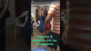 POLICIA DEL PERU CON VENECAS