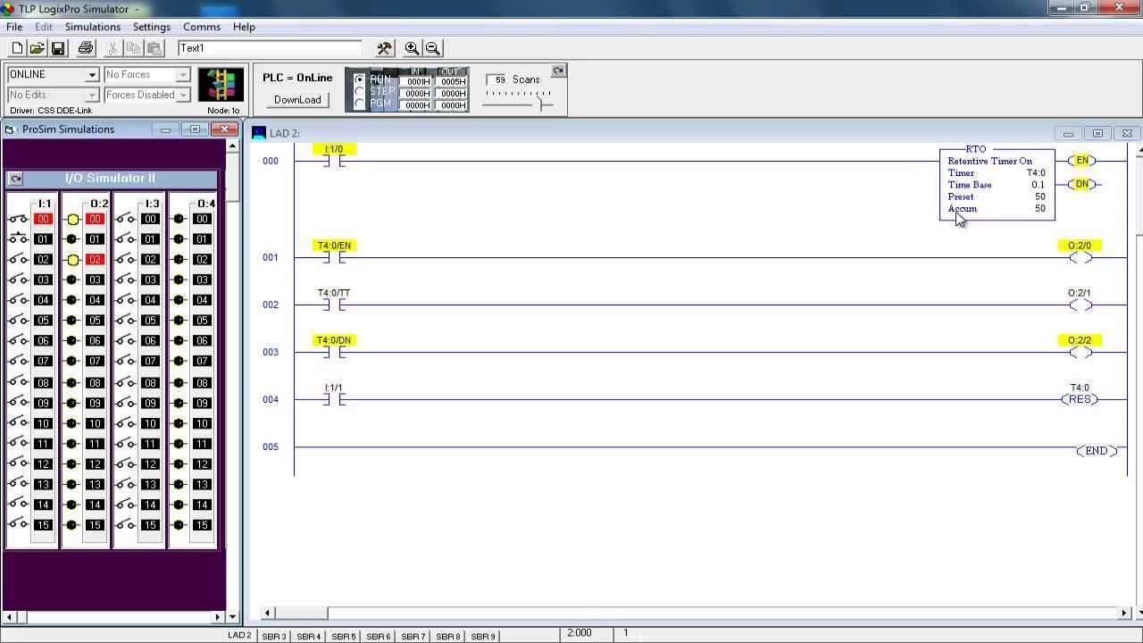 Programa U00e7 U00e3o Em Ladder - Aula 09 - Temporizadores - Parte 03  03  Rententive Timer On - Rto