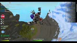 How to see yourself far away while falling of a cliff. (Roblox Broken Bones IV)