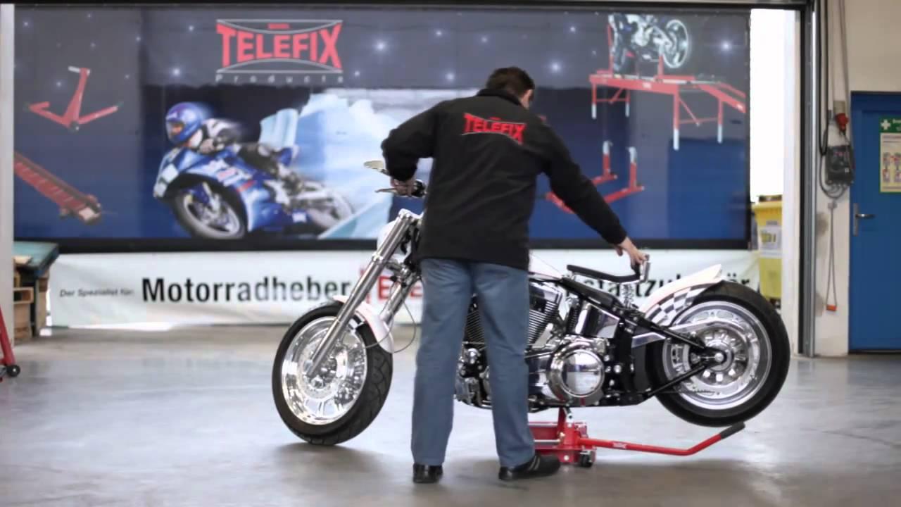 www.TELEFIX-Products.de Chopperheber mit Rangierfahrwerk ...