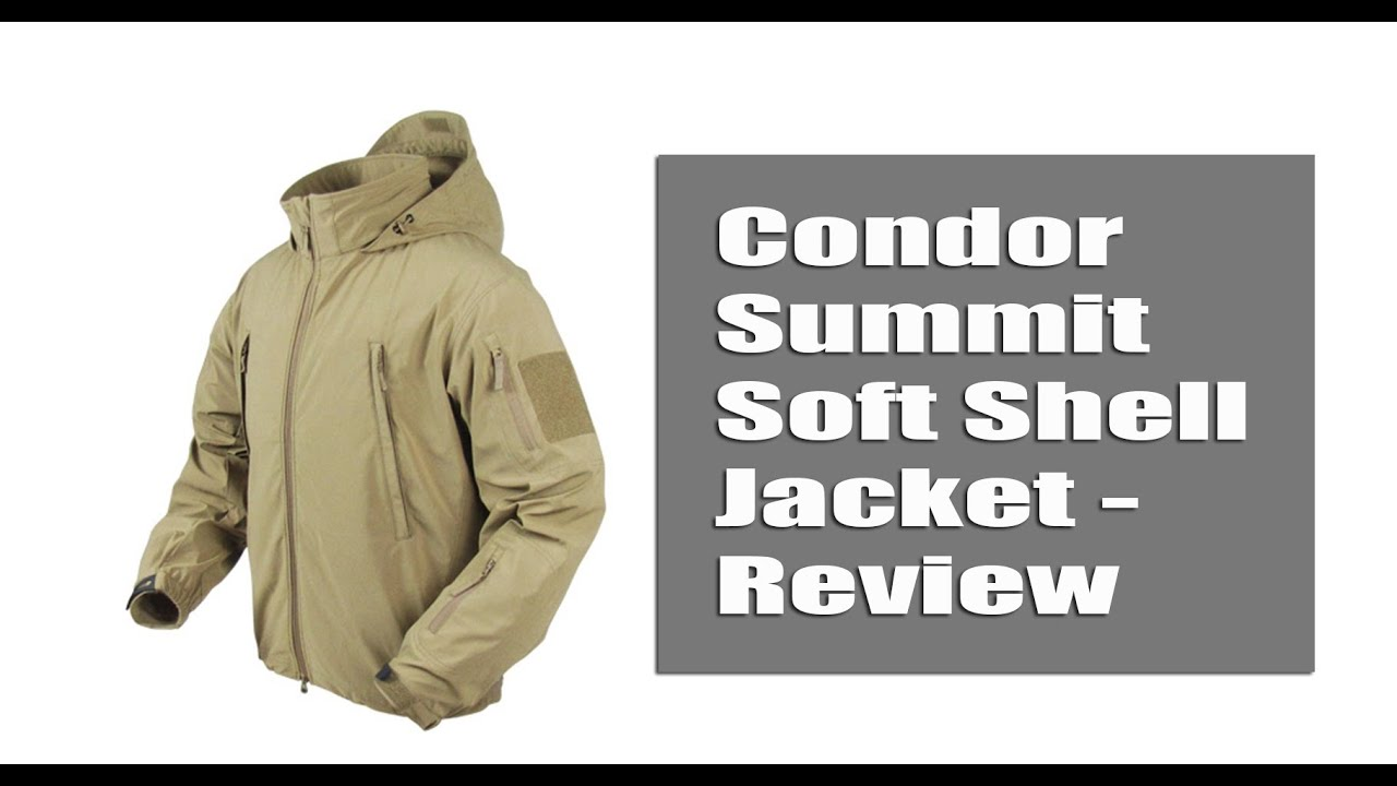 f0eab8d97 Condor Summit Soft Shell Jacket - Review