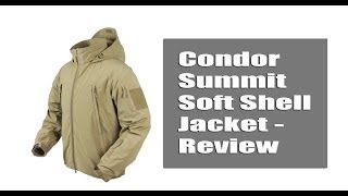 Condor Summit Soft Shell Jacket - Review