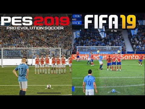 FIFA 19 Vs PES 2019 Gameplay Comparison
