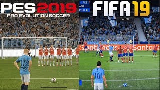 Gambar cover FIFA 19 vs PES 2019 Gameplay Comparison
