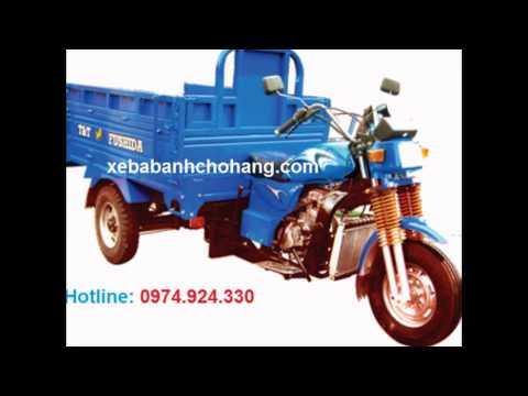 Xe lôi, xe ba gác, xe ba bánh chở hàng T&T FUSHIDA 175cc - http://xebabanhchohang.com/