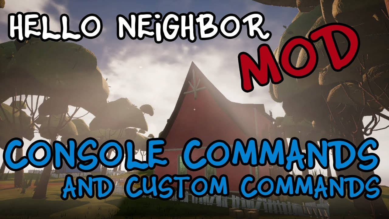 hello neighbor alpha 3 консоль