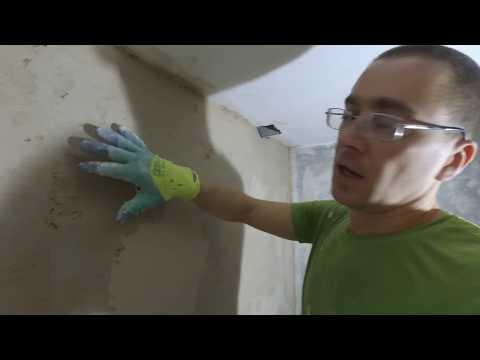 Как выровнять штукатурку после высыхания